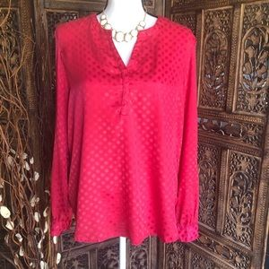 Simply Styled Pink Tunic Blouse Size XL